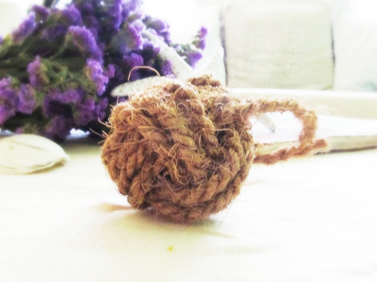 how to make a monkey fist knot