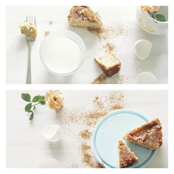 Grandma's Upside-Down Apple Caramel Cake with SriLankan Cinnamon ...