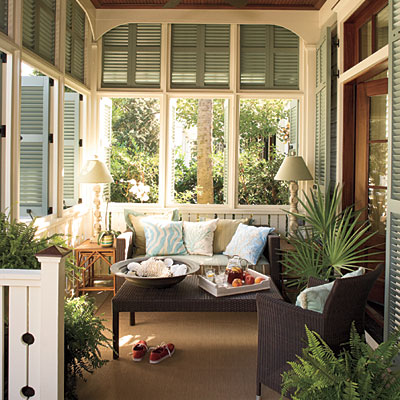 Trumatter s going natural coastal trumatter for Beach porch ideas