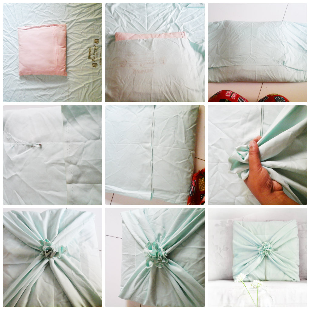 Diy Sew Cushion Covers: DIY No Sew Cushion Cover Tutorial   Trumatter,